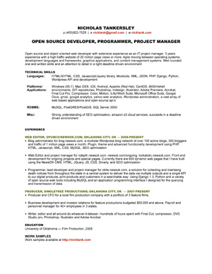 how to get around - Web Producer Resume